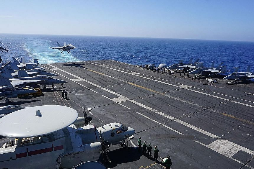 The USS Carl Vinson is due to arrive in Vietnam today, in a sign of the growing strategic ties between Hanoi and Washington.