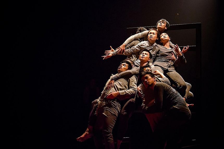 Cut Kafka! is by T.H.E Dance Company and Nine Years Theatre.