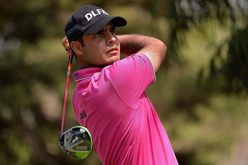 Leader Shubhankar Sharma is making a name for himself at the WGC-Mexico Championship.