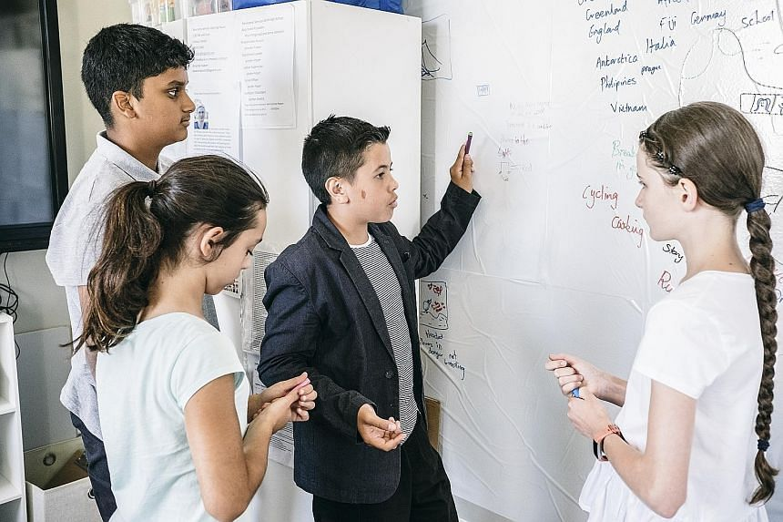 Ms Susan Wu (above) co-founded Lumineer Academy, a new primary school in Australia that uses a learning model that promises to prepare pupils to become the architects of - rather than mere participants in - a future world.