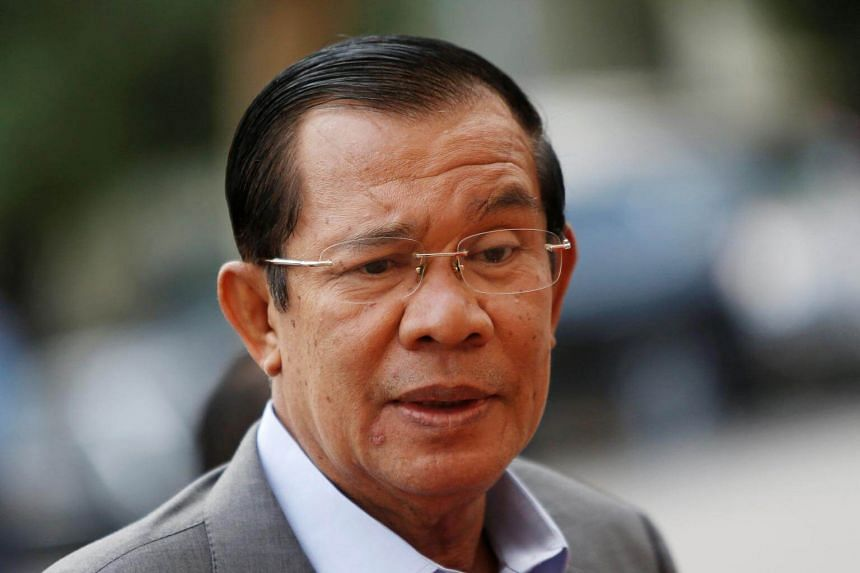 In a speech, Hun Sen (pictured), who has held power since 1985, said he was not willing to talk to Sam Rainsy, citing the latter's criminal convictions.