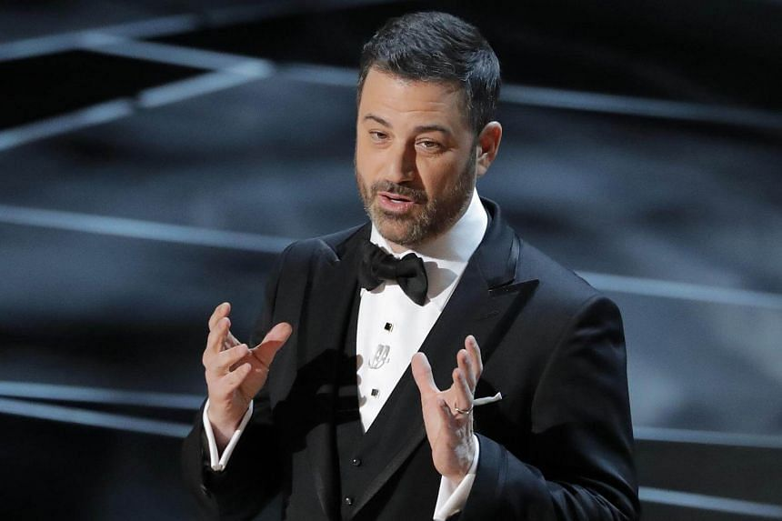 Jimmy Kimmel opens the Oscars 2018 on March 5, 2018.