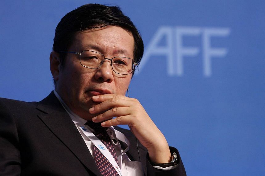 Lou Jiwei, the chairman of China's National Council for Social Security Fund.