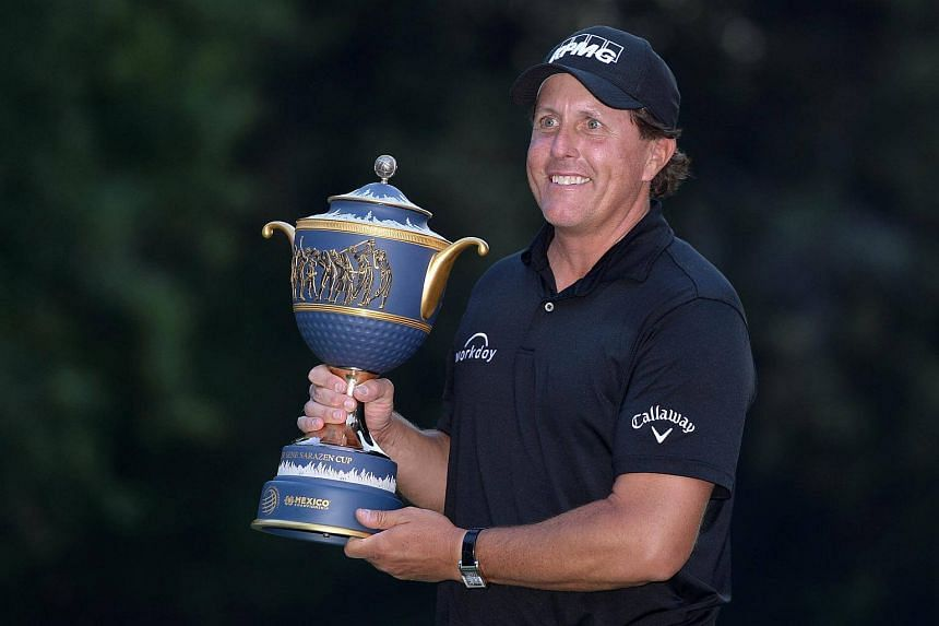 Golfer Phil Mickelson, who had not won since the 2013 British Open, was thrilled to find his golden touch and make a long-awaited breakthrough at the Club de Golf Chapultepec in Mexico City.