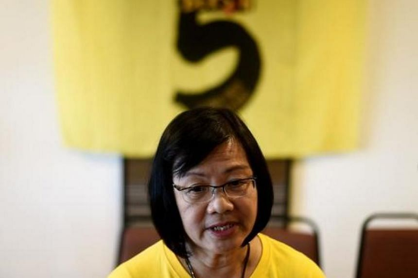 Political activist Maria Chin Abdullah is offering herself as a candidate to the four-party opposition alliance Pakatan Harapan.