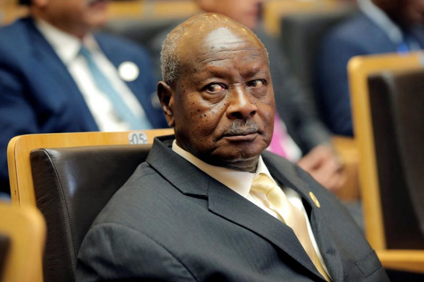 Uganda's President Yoweri Museveni attends the 30th Ordinary Session of the Assembly of the Heads of State and the Government of the African Union in Addis Ababa, Ethiopia on Jan 28, 2018.