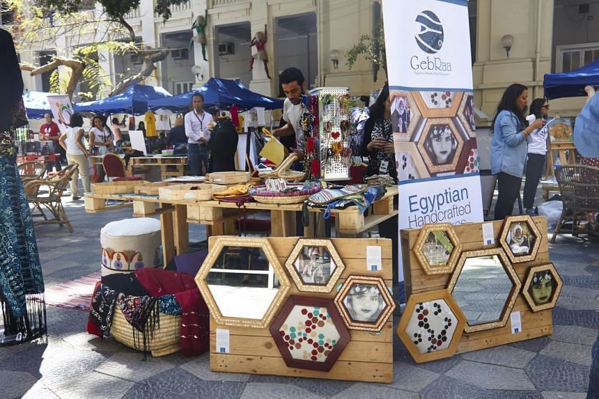 GebRaa sells sustainably produced crafts made by Egyptian artisans.
