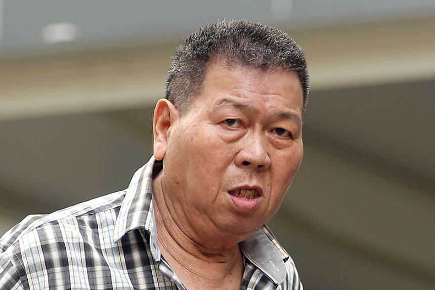 Mak Yip Kee admitted to molesting a 13-year-old on the MRT train travelling from Aljunied to Paya Lebar station on Jan 7, 2016.