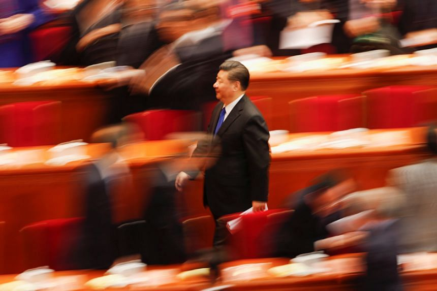 Party loyalists say China's decision to lift presidential term limits is popular with ordinary Chinese people and asserted that China was lucky to have a leader of President Xi Jinping's calibre.