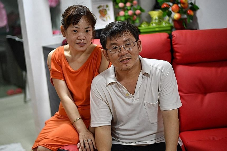 """Mr Chong and Ms Tan met when he was teaching IT classes for the visually impaired five years ago. """"Even if you're colour blind... You'll still be able to see meaningfully,"""" he says."""