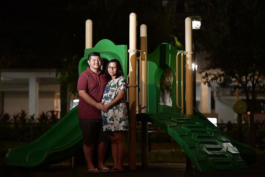 Ms Tricia Lee and her husband Aaron Teo are expecting their first child and have requested to store their baby's cord blood. The couple plan to donate the cord blood if it remains unused.