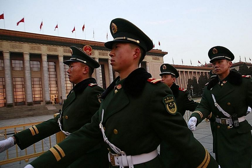 Beijing's decision to boost military spending reversed a 2015 decision to more closely match spending on its armed forces with slower gross domestic product growth.