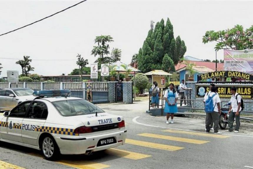 Malaysia's education ministry is considering the possibility of auxiliary police in schools and closed-circuit television cameras for additional security later this year.