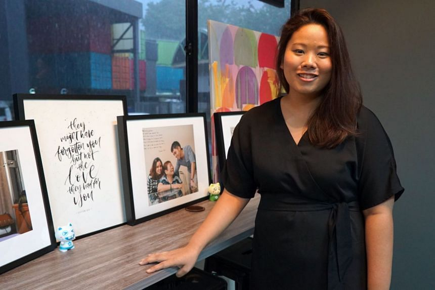 Ms Melissa Chan founded social enterprise Project We Forgot in 2015, after the death of her father, who had dementia.