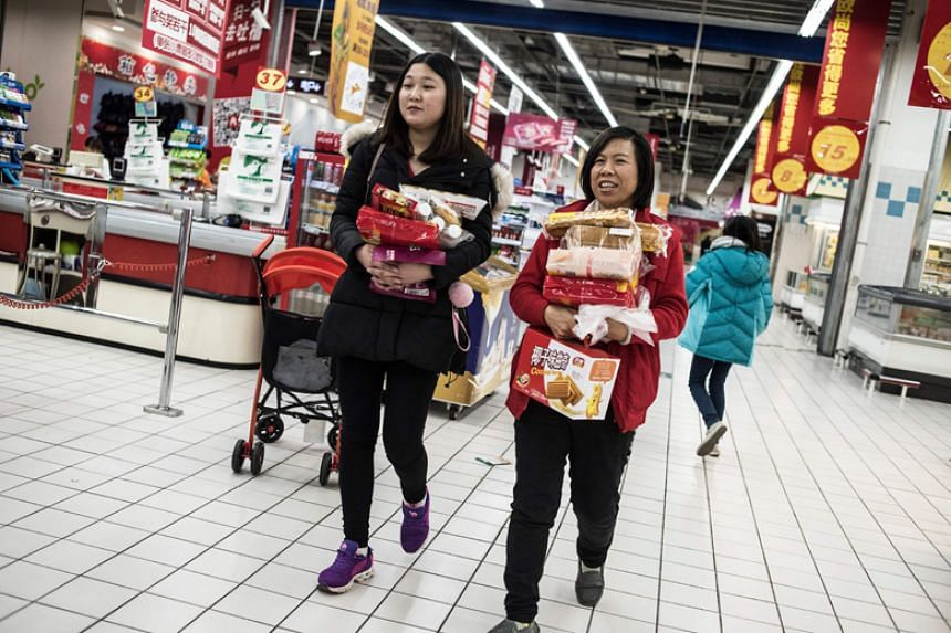 China's economy expanded 6.9 per cent last year on the back of stronger consumer spending and exports.