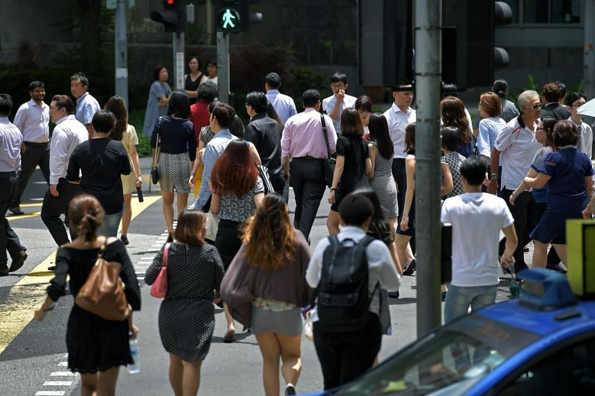 Foreigners, numbering 1.1 million, make up about a third of Singapore's workforce of 3.4 million.