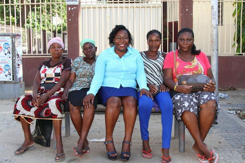 Around 20,000 people, mostly women, have benefited from Ms Verónica José's (centre) activism.