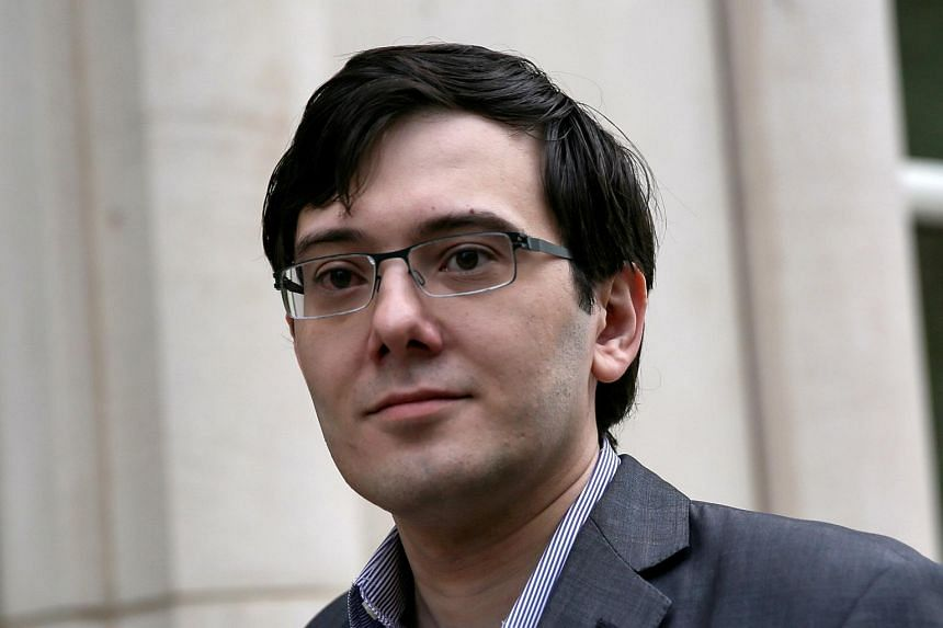 Martin Shkreli's bail was revoked after he offered a US$5,000 bounty for a strand of Hillary Clinton's hair in a Facebook post and has been in jail since September 2017.