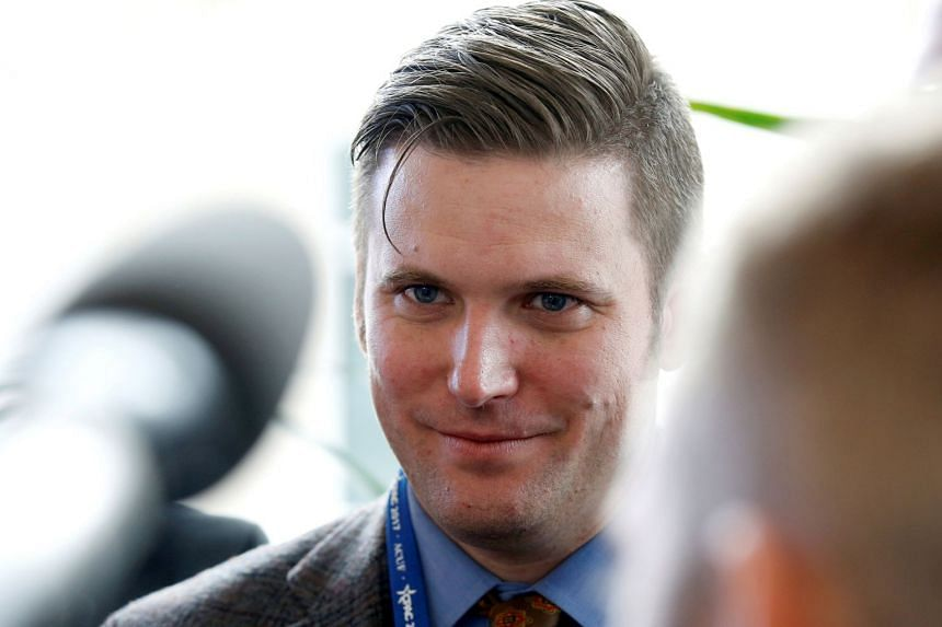 """Richard Spencer has been listed as """"a radical white separatist whose goal is the establishment of a white ethno-state in North America."""""""