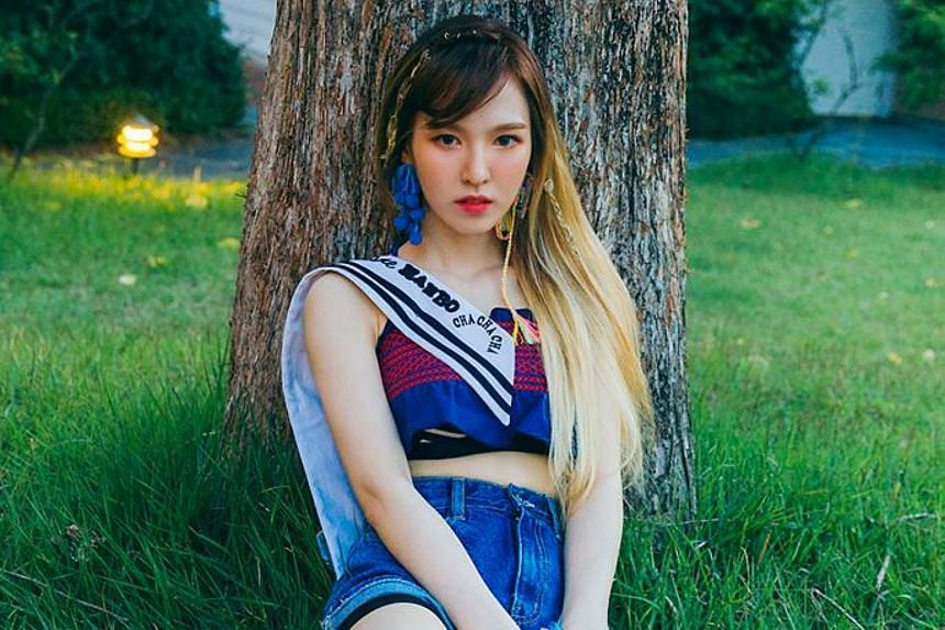 Wendy, who grew up in Canada and the US, had been asked on South Korean talk show Talk Mon to discuss the different ways that English is spoken in the US.