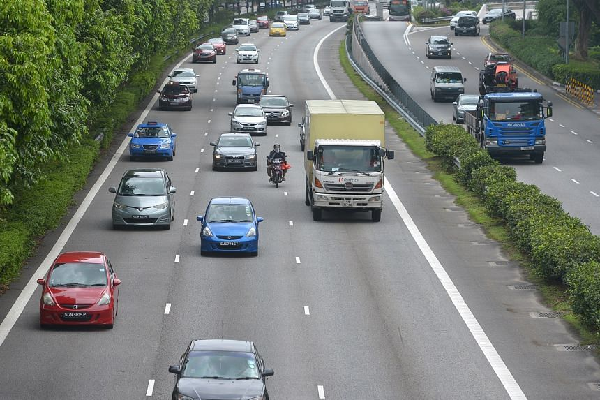 """Minister for the Environment and Water Resources Masagos Zulkifli said he would be reviewing """"how to reduce vehicular pollution from older, more polluting vehicles""""."""