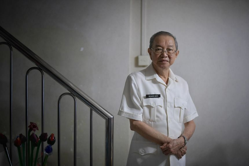 Mr Richard Quek became a driving examiner in 1975 and retired as the Chief Tester of Traffic Police (TP), the top driving test honcho, in 2009 at age 62.