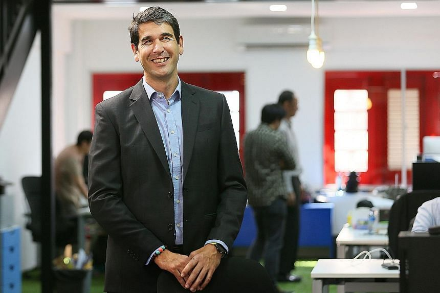 Mr Sinuhe Arroyo founded Taiger eight years ago as a spin-off from his research in AI. The firm has developed three products: a chatbot, an enterprise search tool and an information extraction tool. And it has ambitious growth plans - it raised $8 mi