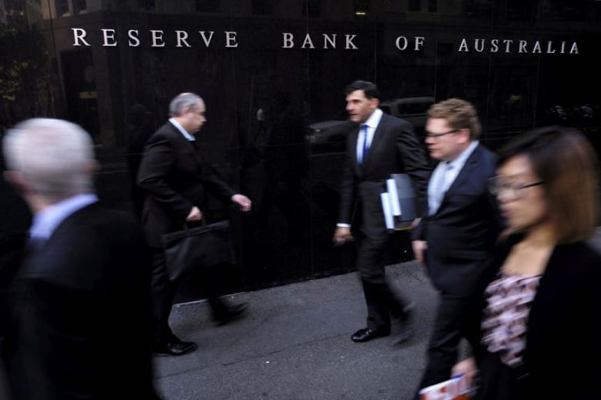 The Reserve Bank of Australia in Sydney.