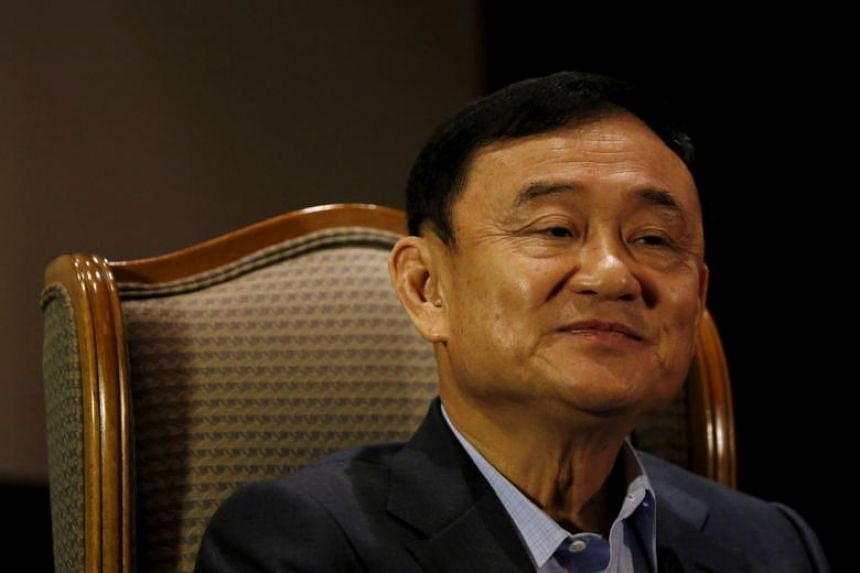 Thaksin, 69, fled Thailand in 2008 and has since lived in self-imposed exile overseas.