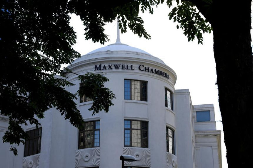 The Maxwell Chambers building, which houses the Singapore International Arbitration Centre, is seen in Singapore on April 11, 2017.