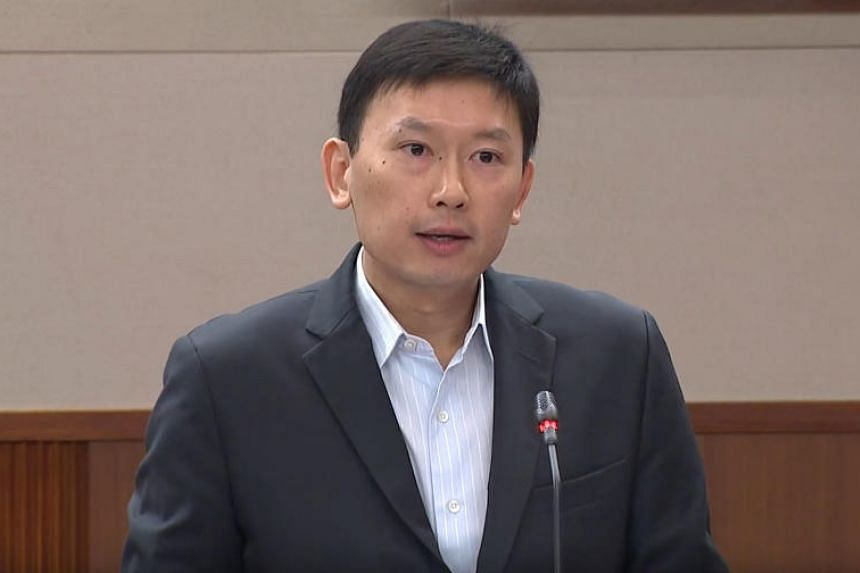 Senior Minister of State for Health Chee Hong Tat during the debate on his ministry's budget on March 7, 2018.