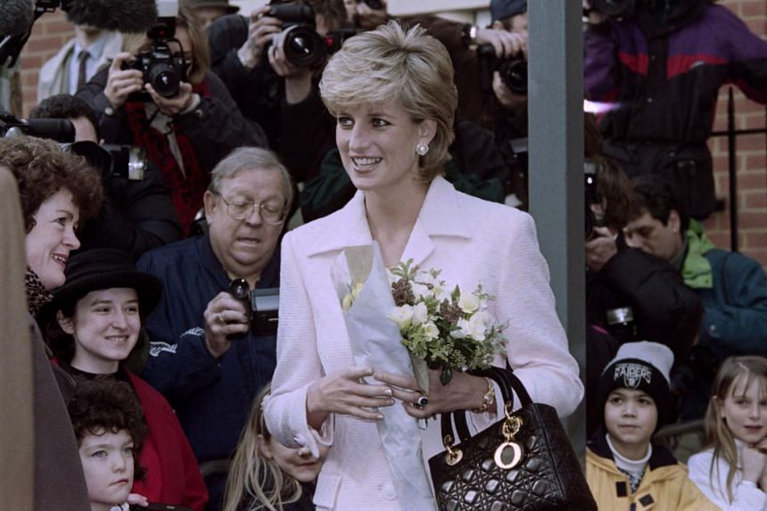 Princess Diana (pictured) became one of the world's most photographed people, bringing global attention to John Boyd and his hats.
