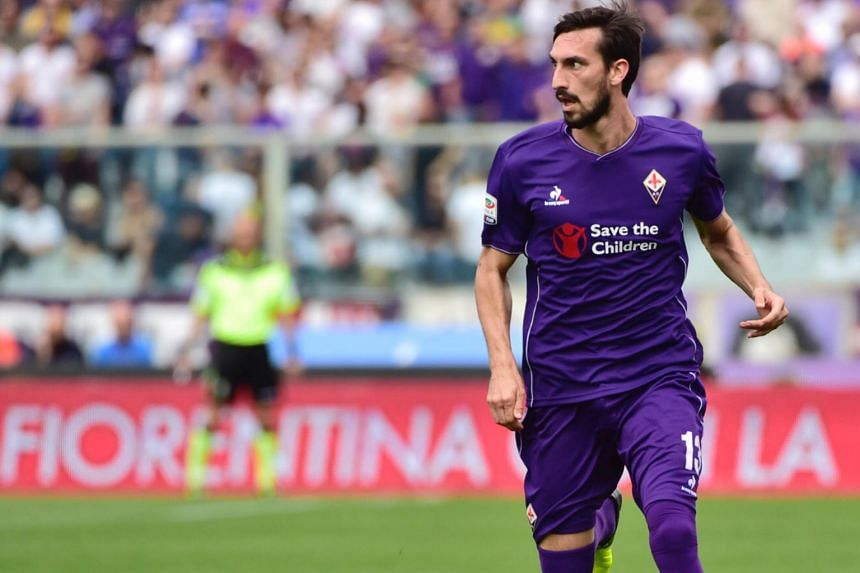 """Fiorentina's Davide Astori, 31, who played 14 times for Italy, was found dead in his hotel room on Sunday. The club asked for """"silence and respect"""" after Italy's football chief announced that Fiorentina had made """"a lovely gesture"""" by extending the pl"""