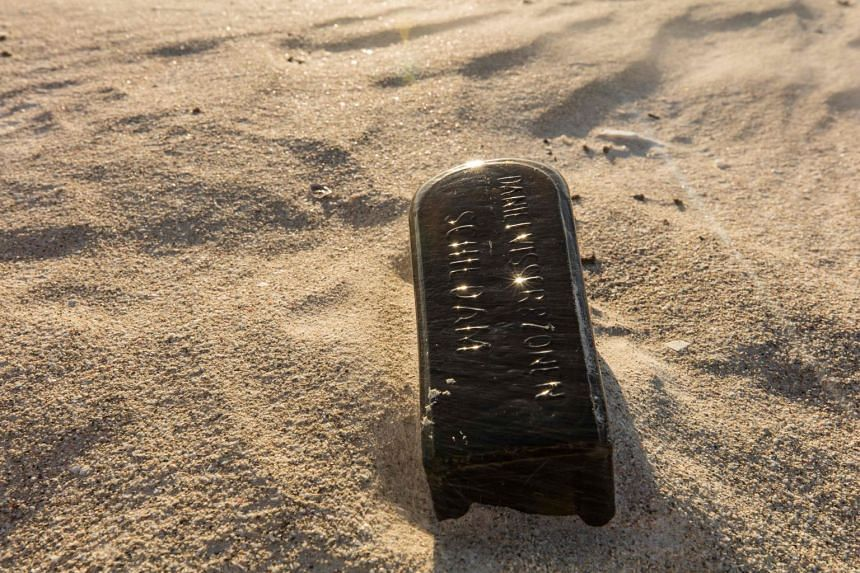 A bottle with an almost 132-year-old message was found near Wedge Island, some 160km north of Perth.