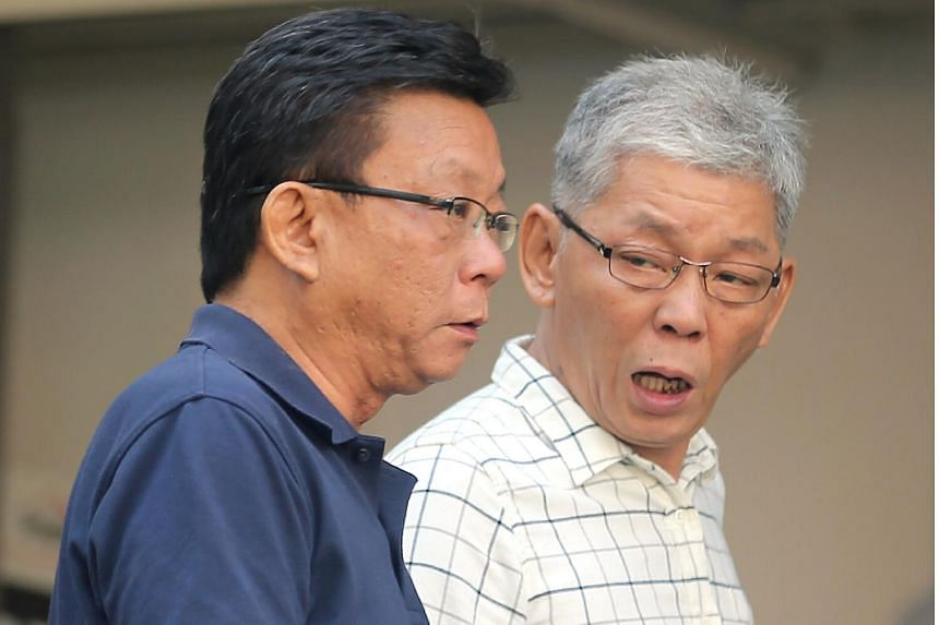 Chong Teck Sian (right) used his brother Chong Choong Siang's (left) passport to enter Malaysia. Chong Teck Sian was jailed for 1½ years on March 7, 2018.
