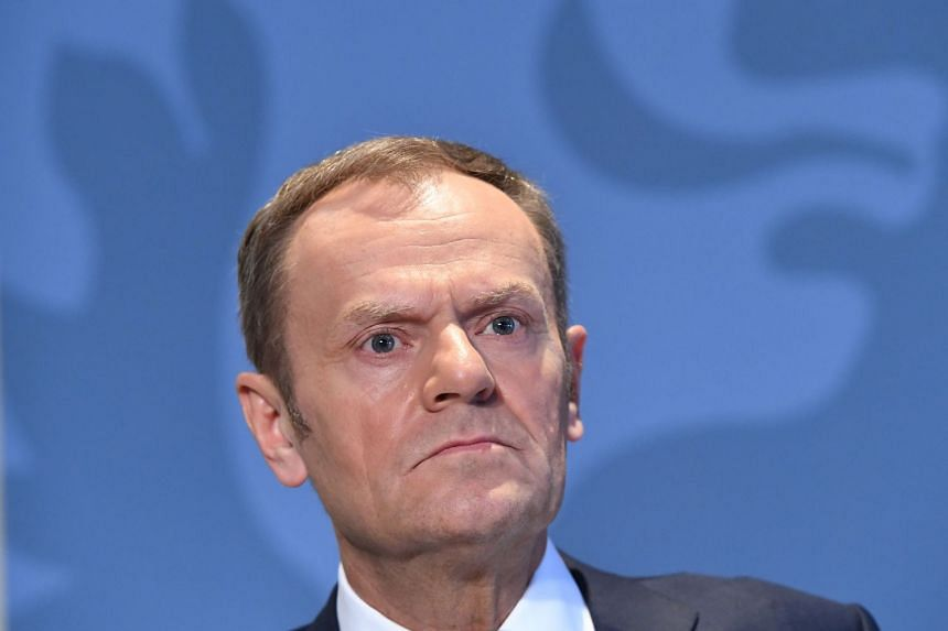 European Council President Donald Tusk proposed that European Union leaders hold an emergency debate on the trade dispute at a summit in Brussels on March 22-23.