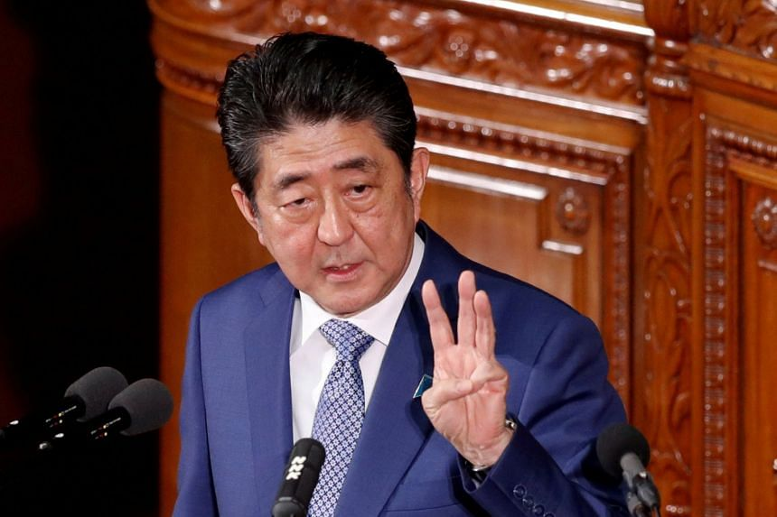 Japanese Prime Minister Shinzo Abe has repeatedly denied that he or his wife did favours for the former head of the school operator Moritomo Gakuen.