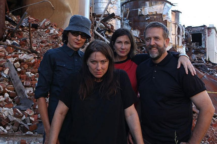The Breeders (comprising, from left, Josephine Wiggs, Kim Deal, Kelley Deal and Jim Macpherson) mark their third decade in music next year.