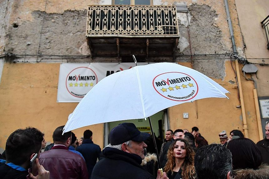 Despite being the big winners of Sunday's election, creating a government out of the populist Five-Star Movement party and the far-right League will be difficult as the two represent different interests.