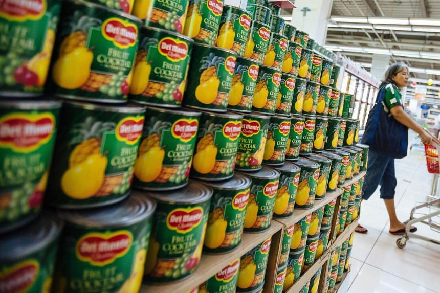 Food and beverage company Del Monte Pacific reversed into the red due to the continued shutdown of its tomato production facility in Plymouth, Indiana.