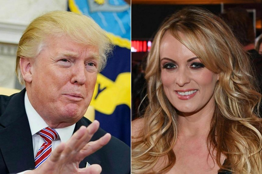 """Pornographic film star Stormy Daniels said she was taking legal action to be able to speak freely about the """"intimate relationship"""" she had with US President Donald Trump without fear of retribution."""
