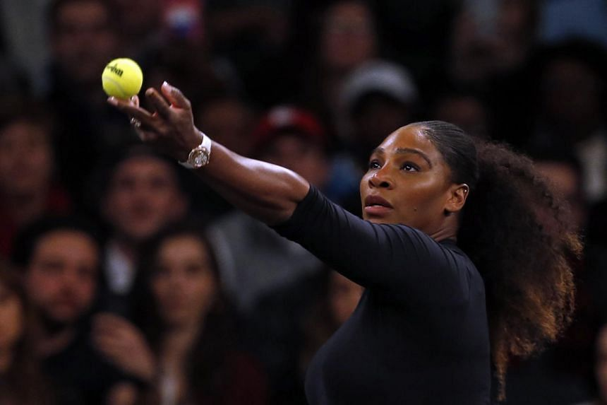 After a couple of exhibitions and a Davis Cup doubles match, Serena Williams is eager to hit with the big guns as she opens her campaign.