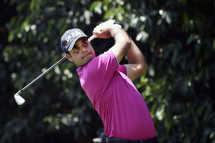 Sharma competing in the World Golf Championship in Mexico City, on March 3, 2018.