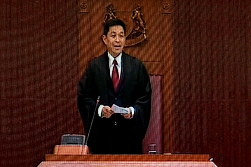 In his 10-minute speech, Speaker of Parliament Tan Chuan-Jin gave MPs a pat on the back for their active participation in the debate.