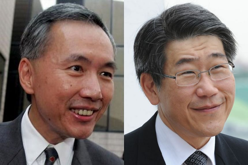 Top of the list for Singapore were Far East Organization's Robert (left) and Philip Ng (right).