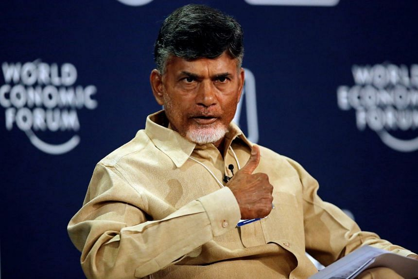 Andhra Pradesh chief minister Chandrababu Naidu (above) has pulled out two ministers from the federal government.