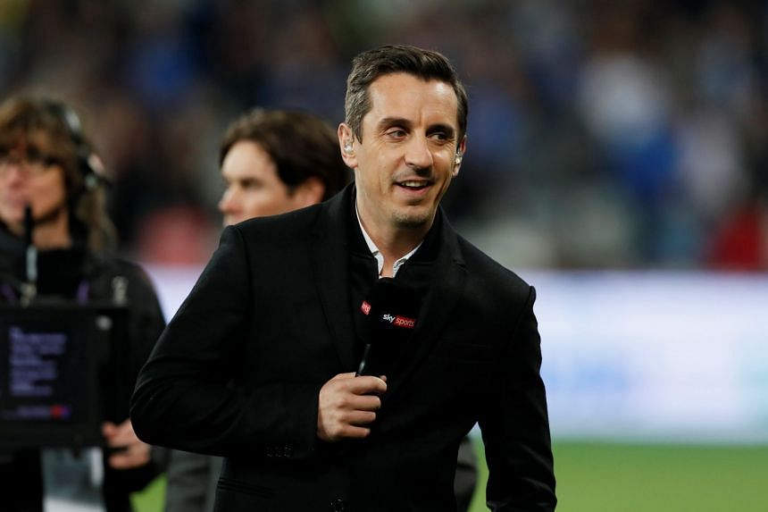 Media pundits like Gary Neville (above) have come under fire from Mourinho.