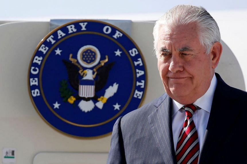 US Secretary of State Rex Tillerson told reporters that he spoke to President Donald Trump about the latter's decision to hold talks with North Korean leader Kim Jong Un.