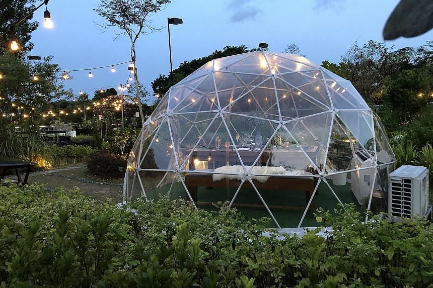 Garden Domes at Summerhouse in Seletar