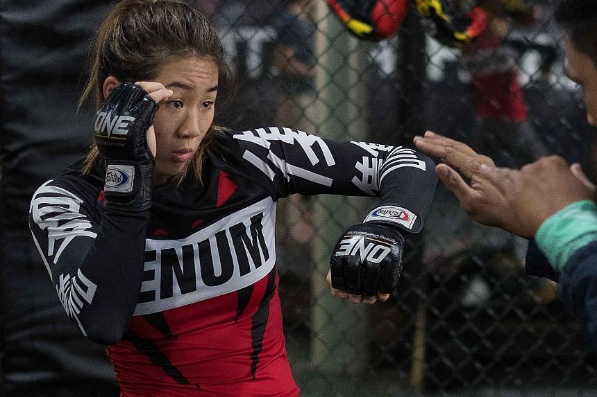 Angela Lee will be fighting Mei Yamaguchi again in May at the Singapore Indoor Stadium. The American boasts an 8-0 win-loss record.